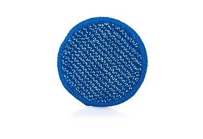 Bild von DuoPad mini Ø 9,5 cm, blaue Faser